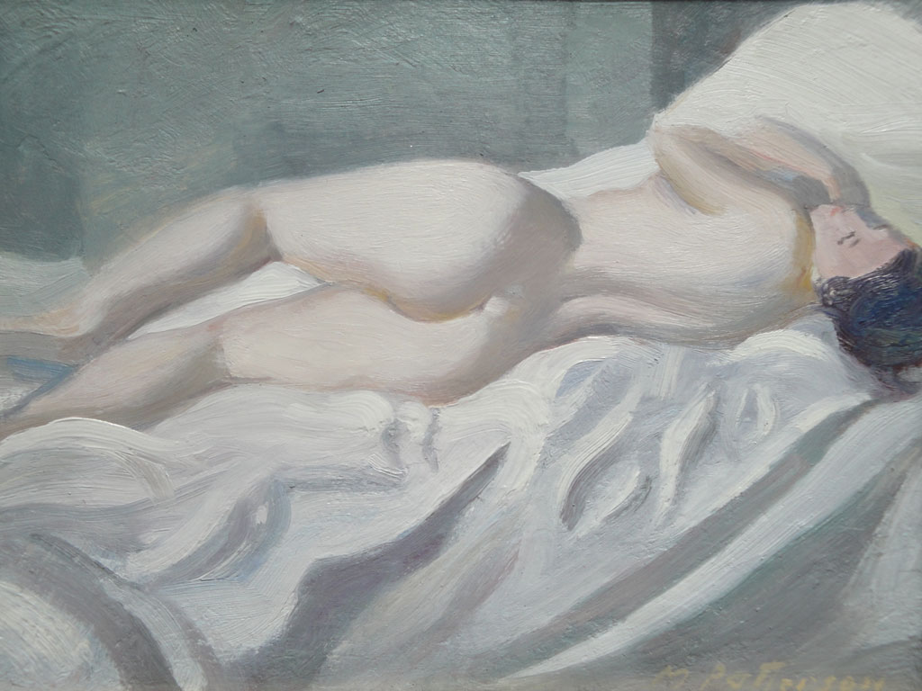 Nude Turning in the Bed