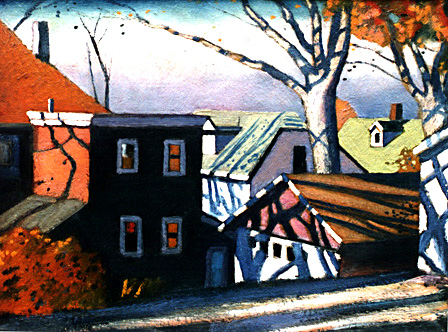 Shadows and Houses in Ossining