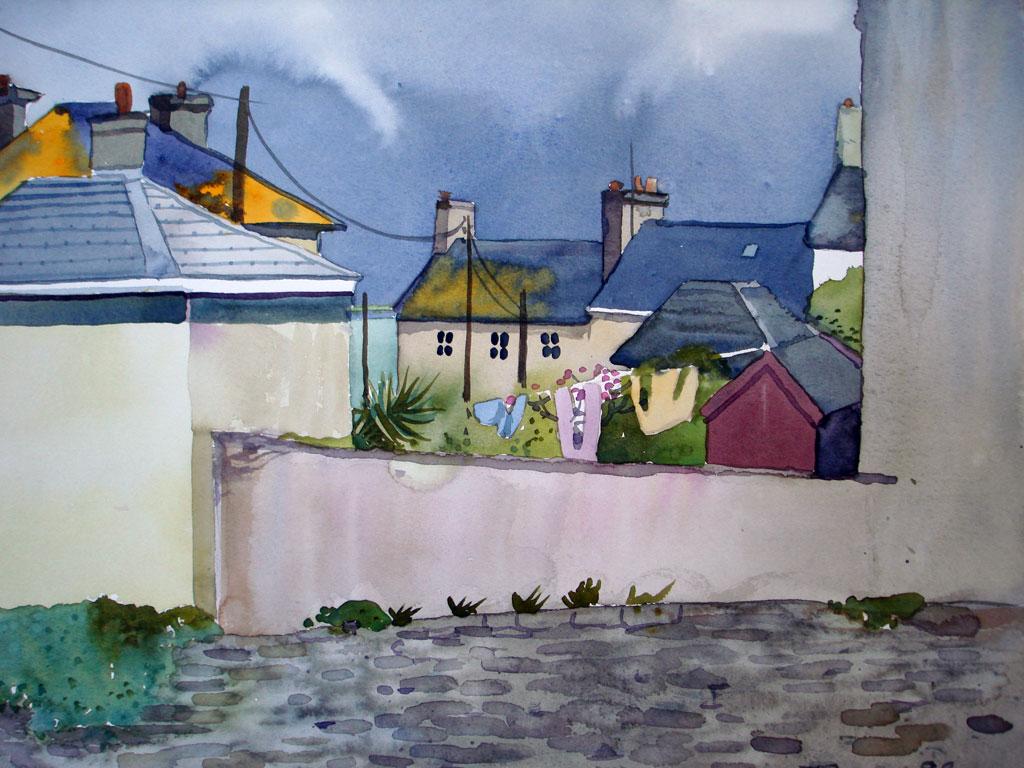 Rooftops in Dunmore East