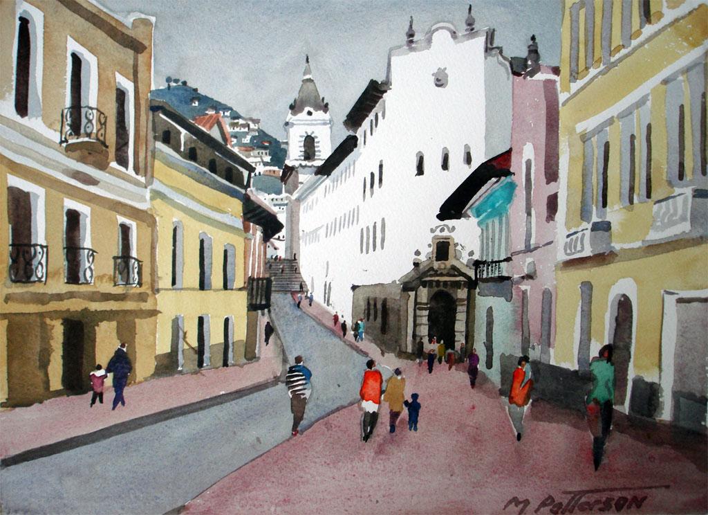 Street Scene, Quito