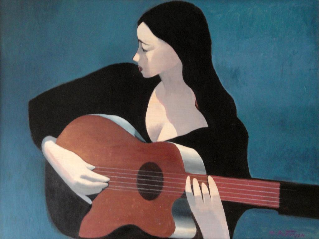 Guitar Girl