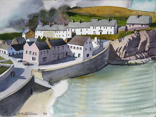 Sea Wall, Irish Village